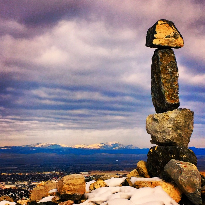 Sleeping Giant and Cairn